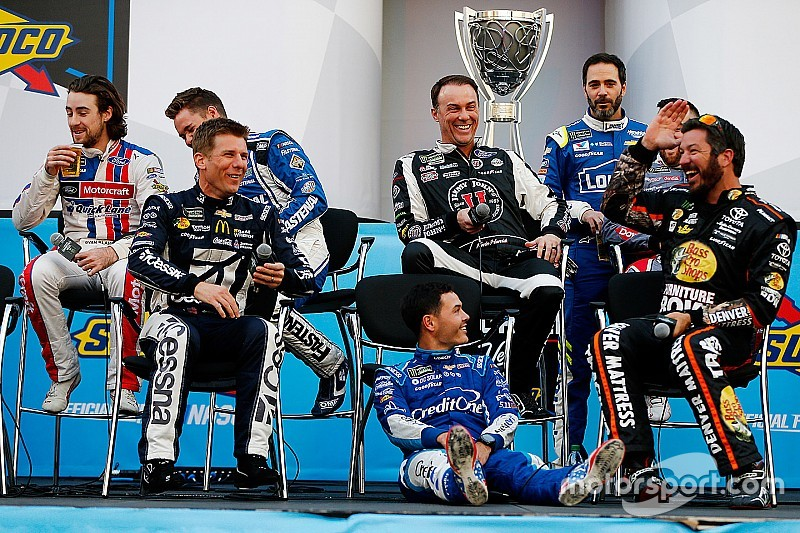 Kevin Harvick relishes leadership role in NASCAR