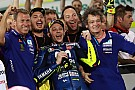MotoGP Rossi büszke rá, hogy a leintésig tartotta Dovi és Marquez tempóját