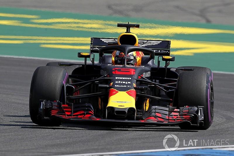 German GP: Ricciardo outpaces Hamilton by 0.004s in FP1