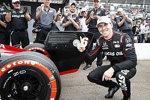 IndyCar Отчет о квалификации Дождь помог дебютанту Уикенсу завоевать поул в Сент-Питерсберге