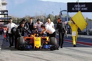 Formule 1 Résumé d'essais Barcelone, J5 - Encore du temps perdu pour McLaren à la mi-journée