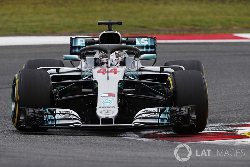 中国GPのFP1はハミルトン首位。トロロッソ・ホンダのガスリー11番手