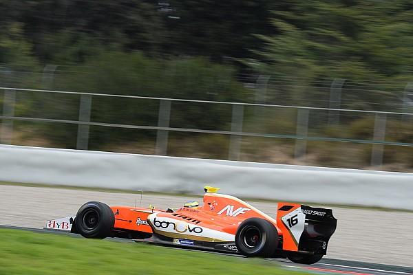 Formula V8 3.5 Catalunya F3.5: Dillmann takes pole by 0.02s in wet qualifying