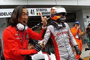 Super Formula Son dakika Vandoorne, Super Formula'daki ilk yarışını kazandı