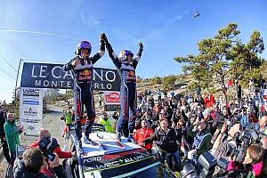 WRC Leg report Monte Carlo WRC: Ogier wraps up fifth consecutive win
