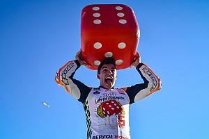 MotoGP Fotostrecke Fotostrecke: So feiert Marc Marquez den MotoGP-Titel 2017