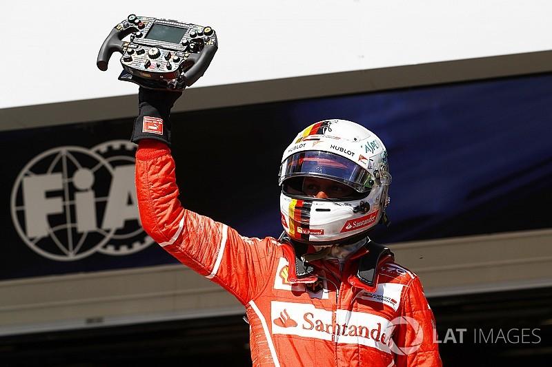 Гран Прі Бразилії: Феттель завдяки гарному старту виграв гонку