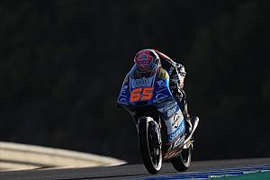 Moto3 Crónica de Carrera Oettl gana una carrera de Moto3 arruinada por Canet