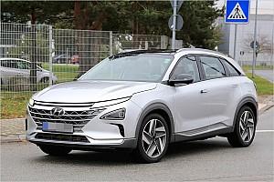 Automotive News Erwischt: Wasserstoff-SUV von Hyundai