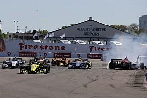 IndyCar Últimas notícias Rossi culpa Wickens por acidente na relargada em St. Pete