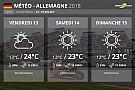 Météo - Le soleil encore au rendez-vous au Sachsenring