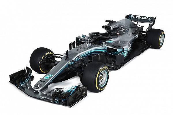 Formel 1 Fotostrecke Bildergalerie: Mercedes W09 für die Formel 1 2018
