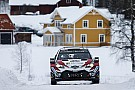 WRCスウェーデン:トヨタ1-2を占め、初日を好発進。オジェは9番手