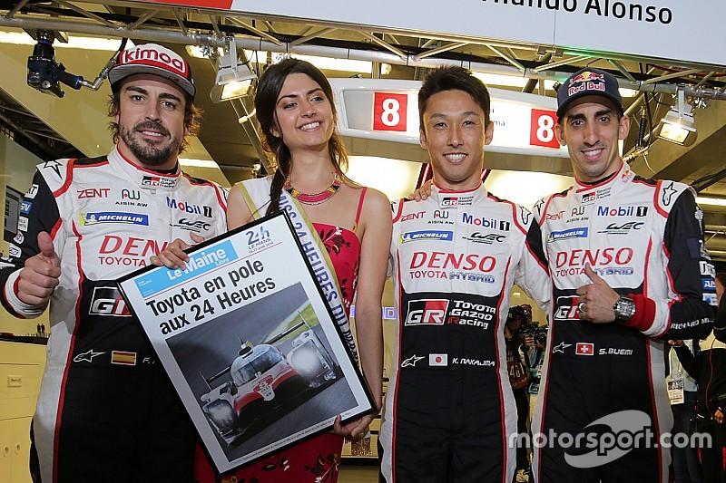 Le Mans 24h: Toyota #8 raih pole, Nakajima/Buemi/Alonso terdepan