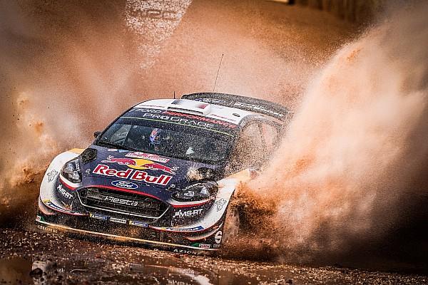 WRC Etappeverslag WRC Italië: Ogier leidt voor Neuville, Mikkelsen uitgeschakeld