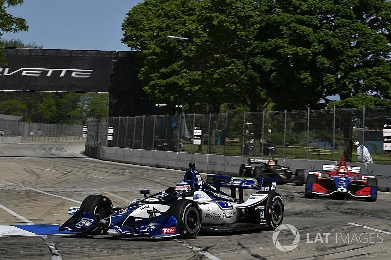 佐藤琢磨、デトロイトレース1で5位「初日からよく挽回したと思う」