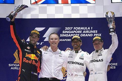 Singapur GP: Ferrari kabus yaşadı, Hamilton kazanarak büyük avantaj sağladı!