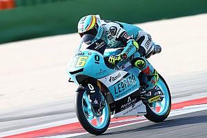 Moto3 Prove libere Aragon, Libere 2: Mir e Canet si invertono al top, Bastianini terzo