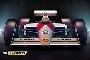 Sim racing BRÉKING Teljes a lista, itt az F1 2017-ben szereplő újabb négy klasszikus autó!
