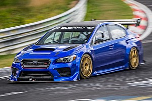 Automotive Breaking news Subaru sets fastest lap record for a Sedan at Nürburgring