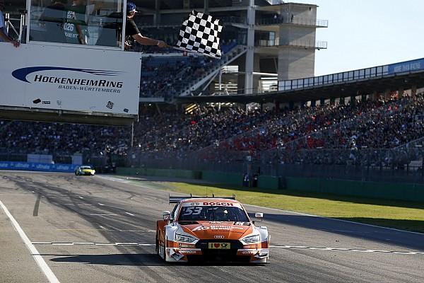 DTM-Finale Hockenheim: Sieg für Green am Samstag, Entscheidung vertagt