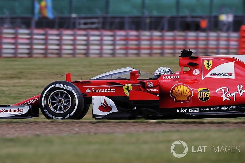 """【F1】ベッテル、""""シールド""""テストを中断。「めまいがした」と低評価"""