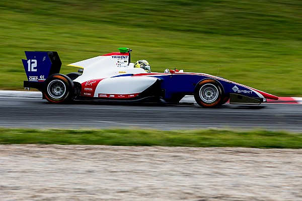 GP3 Reporte de pruebas Boccolacci, al frente del último día de test de GP3 en Barcelona