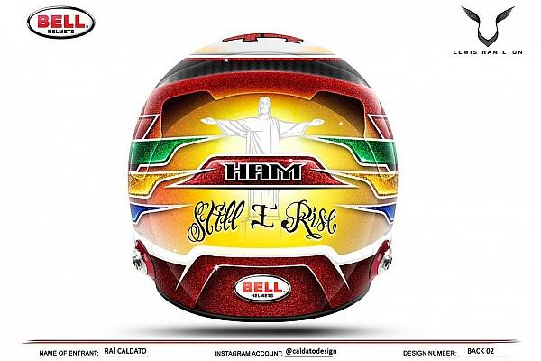 Fotogallery: il casco scelto da Lewis Hamilton per il Mondiale 2017