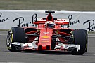 Formula 1 Raikkonen puts first miles on new Ferrari SF70H