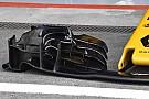 Szinte teljesen vízszintes a Renault első szárnyának utolsó lapja