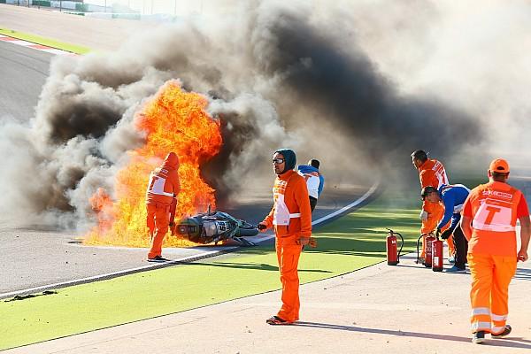 Tom Sykes nach Feuerunfall in Portimao: