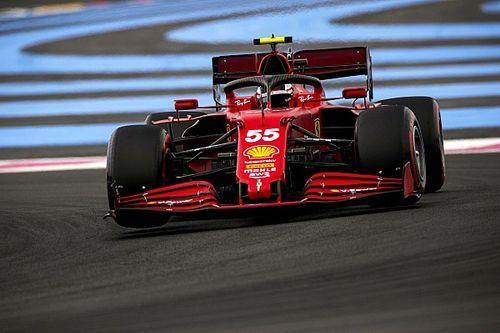 """フェラーリ、F1フランスGPは""""倍""""のデグラデーションで大失速無得点。サインツJr.「原因を理解する必要がある」"""