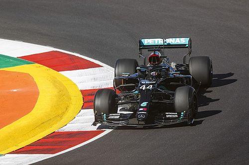 """Hamilton, preocupado por el """"terrible"""" Mercedes en Portugal"""