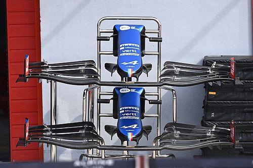 Revealed: Alpine's aggressive F1 aero updates for Imola