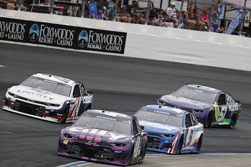 NASCAR suspends pair of Hendrick Motorsports executives