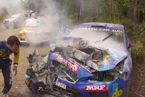 Rally d'Australia: ecco il video del brutto crash di Molly Taylor con la Subaru