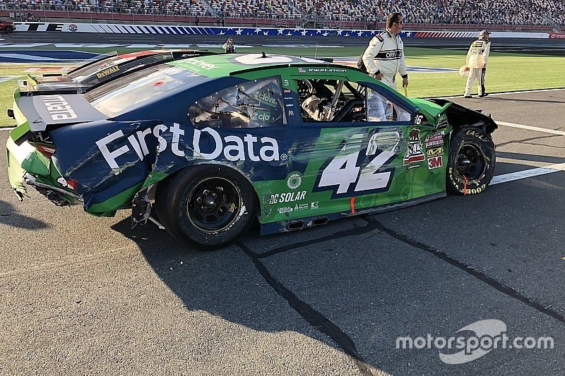 Auf der Ziellinie: Larson hält Titelchance nach