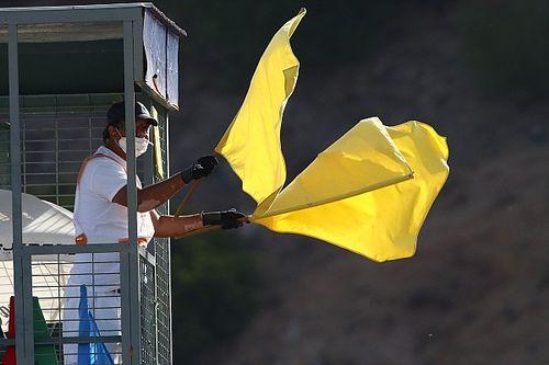 Drapeaux jaunes: les pilotes soutiennent l'annulation des temps