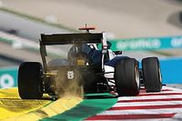 Гонку Формулы 3 в Австрии остановили из-за дождя