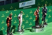 Drugovich tökéletes versenyzéssel nyerte a 3 safety carral is tarkított F2-es sprintfutamot