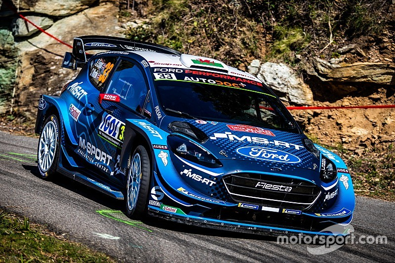 Corsica WRC: Evans retakes lead from Neuville
