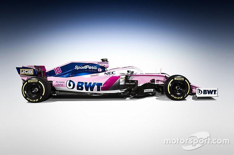 Fotogallery: la prima livrea di F1 della SportPesa Racing Point è da... Pantera Rosa!