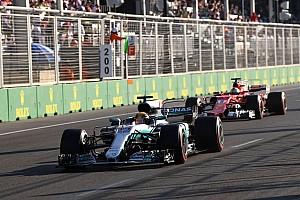 F1 Artículo especial Las 20 historias de 2017, #10: Vettel y el choque con Hamilton en Bakú