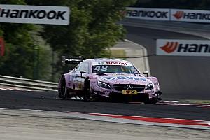DTM Son dakika Mortara Mercedes'e geçişin umduğundan daha zor olduğunu söyledi