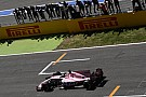 Sergio Pérez asustó a Force India en la parte final