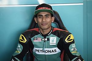 Moto2 Reactions Finis ketiga, Hafizh Syahrin emosional