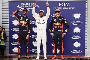 Fórmula 1 Crónica de Clasificación La parrilla de salida del GP de Italia