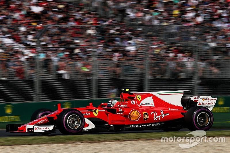 【F1】4位のライコネン「フェラーリの1-2フィニッシュは実現する」