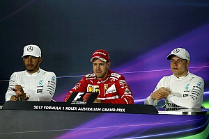 Formula 1 Press conference Australian GP: Sunday's Press Conference