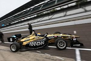 Indy Lights Crónica de Carrera Santiago Urrutia logra el segundo lugar en Indianápolis